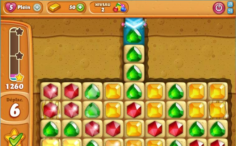 Capture d'écran Diamond Digger Saga