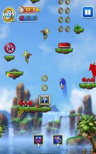 Capture d'écran Sonic Jump