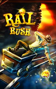 Capture d'écran Rail Rush