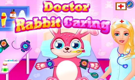 Capture d'écran Docteur Easter Rabbit Caring