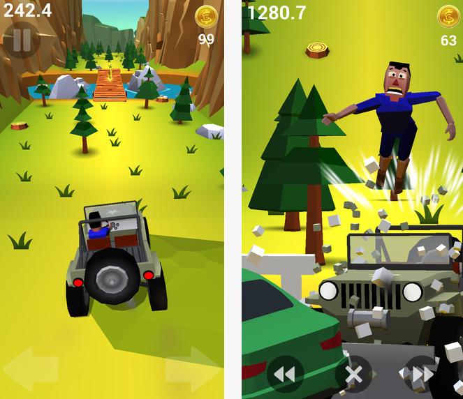 Capture d'écran Faily Brakes iOS