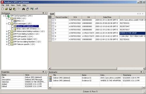 Capture d'écran SIM Card Seizure