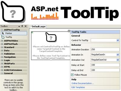 Capture d'écran ASPNetToolTip