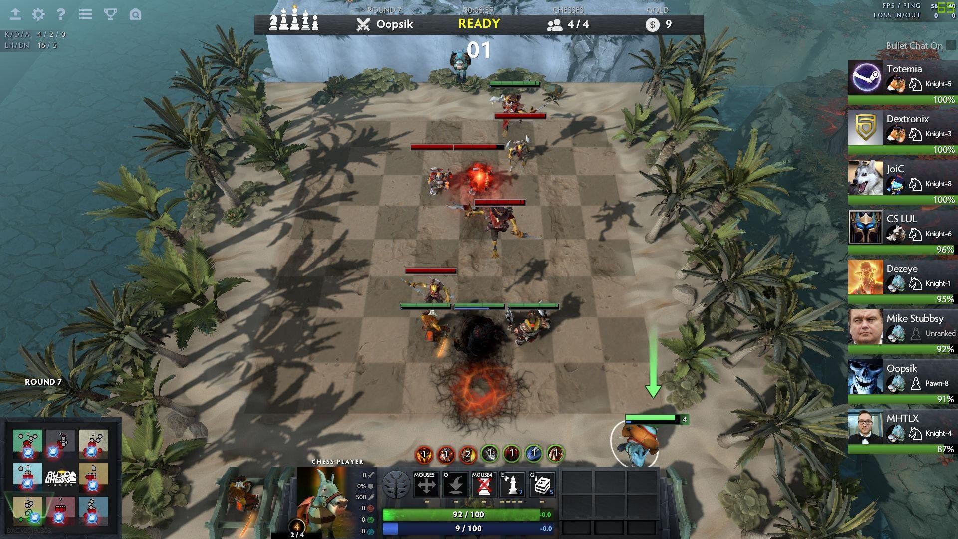 Capture d'écran Dota Auto Chess