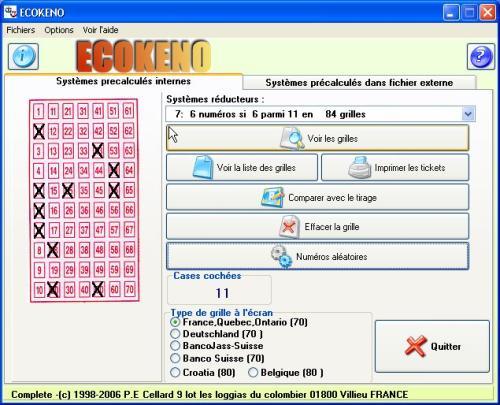 Capture d'écran ECOKENO