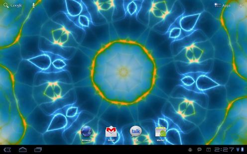 Capture d'écran Prismatic Live Wallpaper