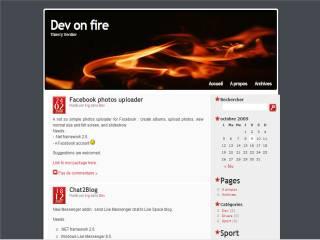 Capture d'écran Chat2Blog