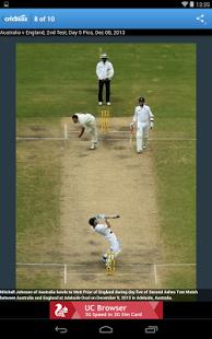 Capture d'écran Cricbuzz Cricket Scores