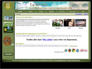 Capture d'écran Top Web Slide