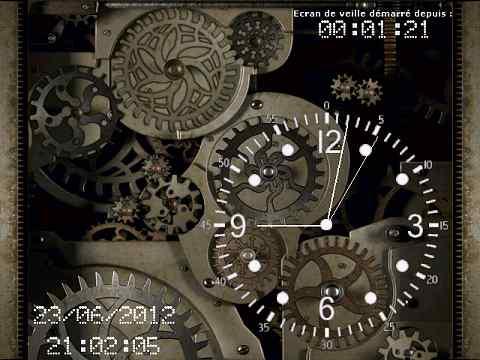 Capture d'écran Clock And Gears
