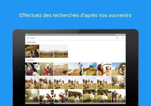 Capture d'écran Photos Uploader