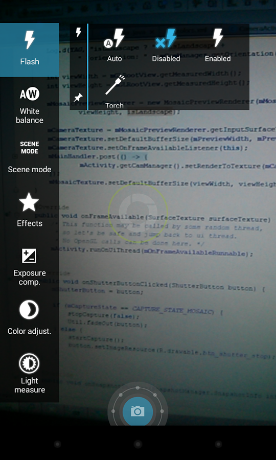Capture d'écran Focal
