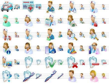 Capture d'écran Medical Icons for Vista