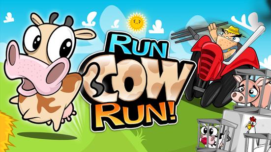 Capture d'écran Run Cow Run