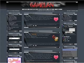 Capture d'écran GameLAN