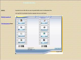 Capture d'écran VIDEOLOG