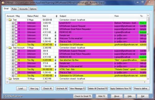 Capture d'écran GRBackPro – Professional Backup