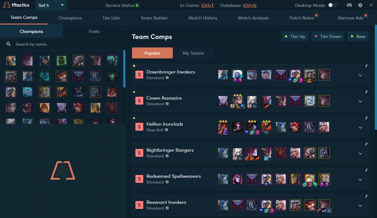 Capture d'écran TF Tactics
