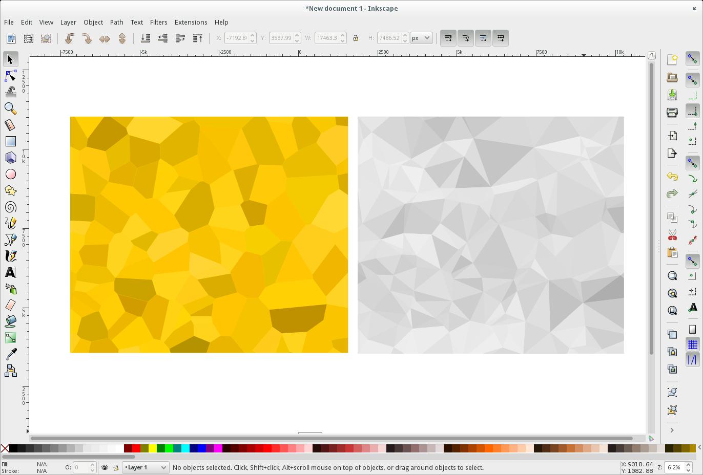 Capture d'écran InkScape