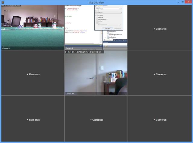 Capture d'écran iSpy