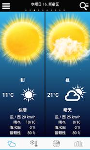 Capture d'écran Weather for Japan