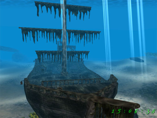 Capture d'écran Pirate Ship 3D Screensaver