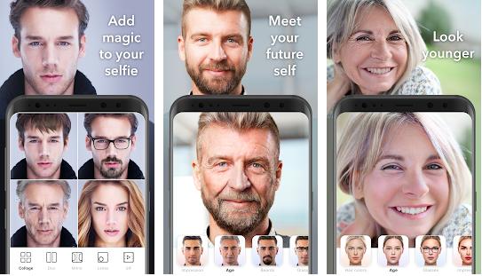 Capture d'écran FaceApp Android