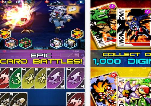 Capture d'écran Digimon Heroes Android