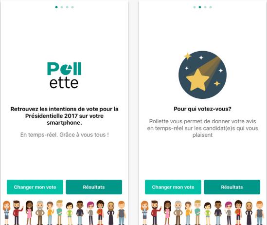 Capture d'écran Pollette Android