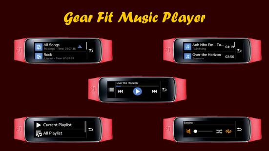 Capture d'écran Music Player for Gear Fit