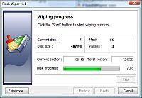 Capture d'écran Flash Wiper