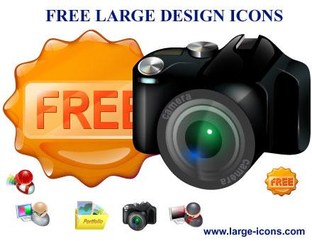Capture d'écran Free Large Design Icons