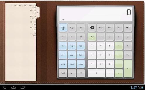Capture d'écran Calculatrice