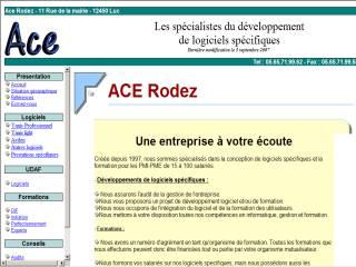 Capture d'écran ACECalendrier