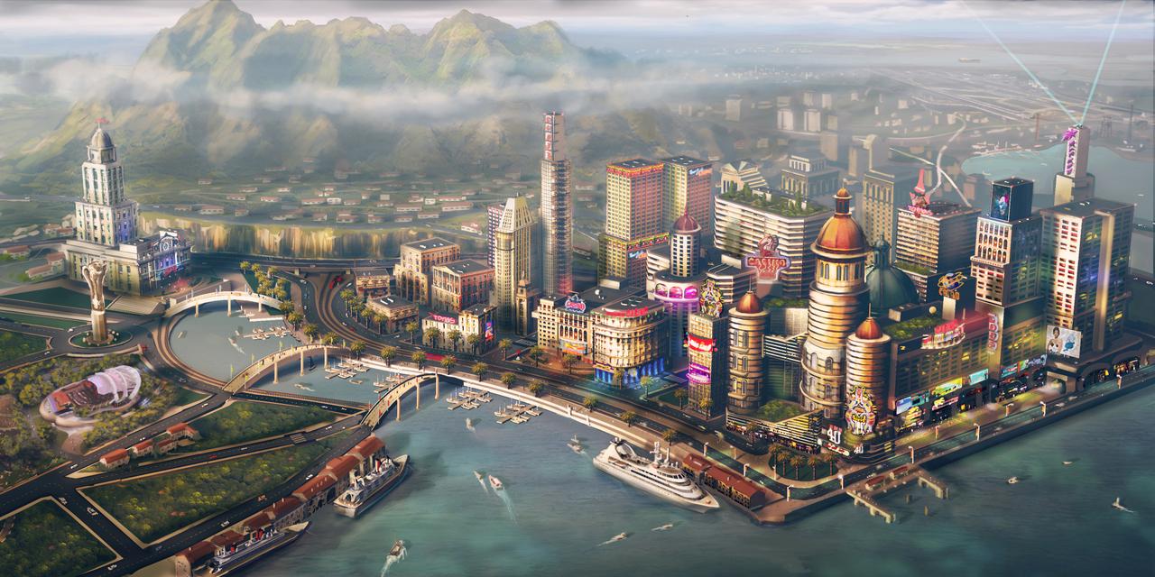 Capture d'écran SimCity 5