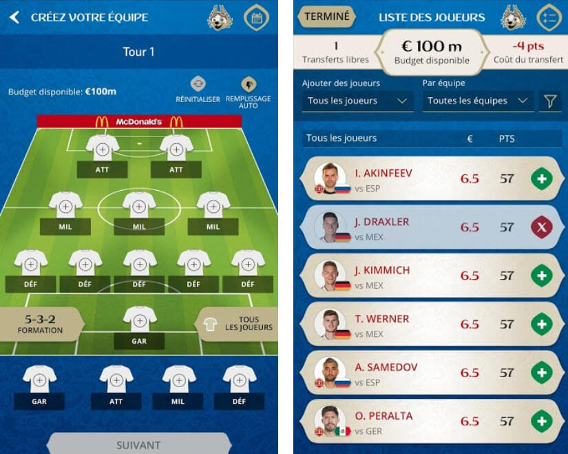 Capture d'écran FIFA World Cup™ Fantasy Android