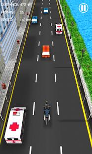 Capture d'écran Course de Motos
