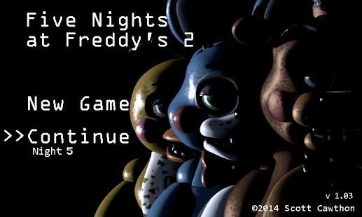 Capture d'écran Five Nights at Freddy's 2