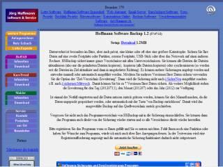 Capture d'écran Hoffmann Software Backup