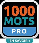 Capture d'écran 1000 Mots Pro / Apprendre à lire