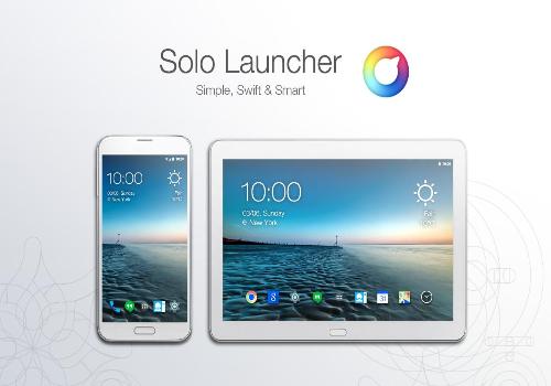 Capture d'écran Solo Launcher Android
