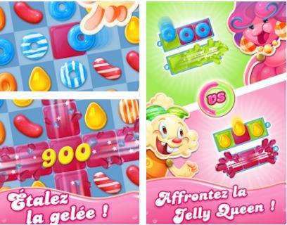 Capture d'écran Candy Crush Jelly Saga