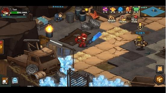 Capture d'écran Raid Survivor Android