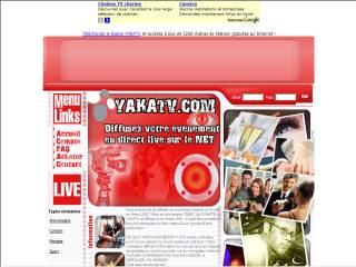 Capture d'écran YAKATV