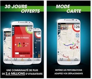 Capture d'écran iCoyote iOS