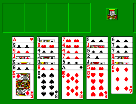 Capture d'écran Freecell