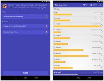Capture d'écran Screen Time Parental Control Android