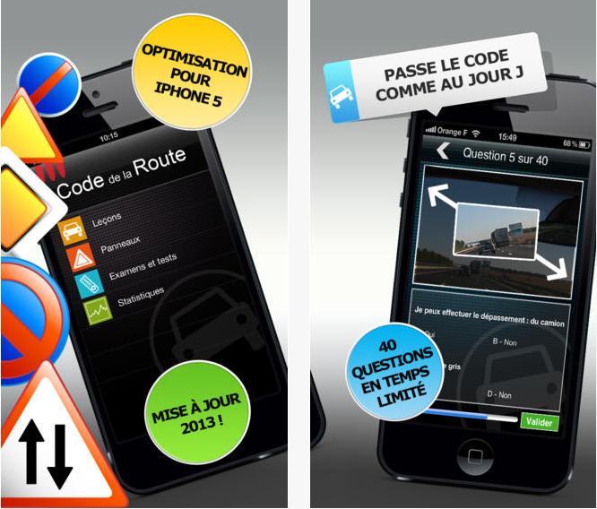 Capture d'écran Le code de la route – iOS