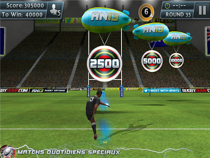 Capture d'écran Rugby Kicks 2