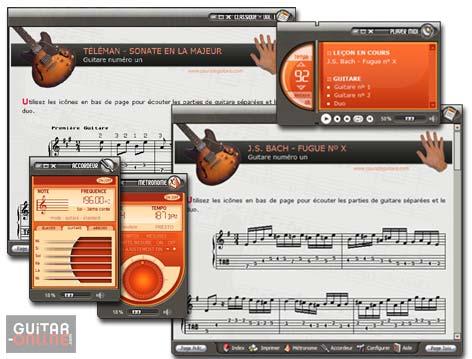 Capture d'écran Pieces Classiques pour Guitare Vol I